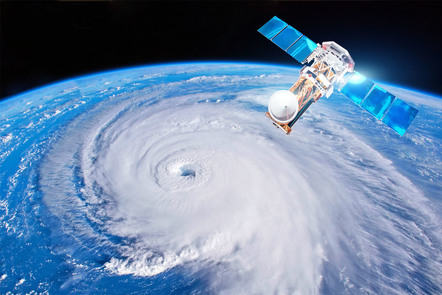 Hurricane Tracking with Satellite Data