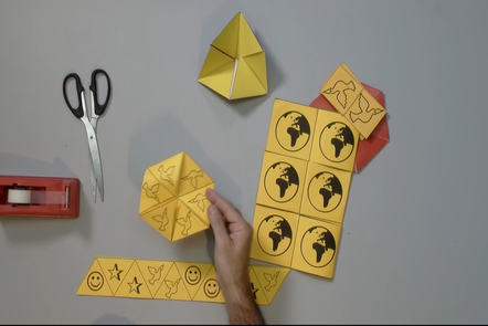 Flexagons and the Math Behind Twisted Paper